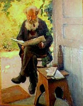 Contentement (1900) - Marc Aurèle Suzor-Côté