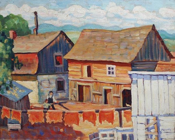 Jean PALARDY - La tannerie