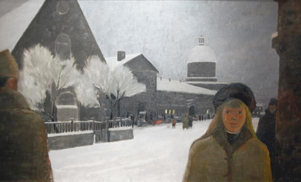 Montréal il y a longtemps (1966) - Jean Paul Lemieux
