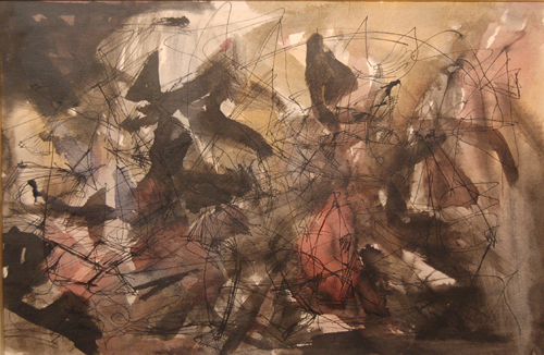 Sans titre (1946) - Jean-Paul Riopelle
