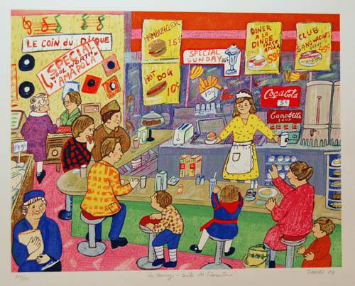 Les quinze cents de Florentine (Bonheur d'occasion) 1983 - Miyuki Tanobe