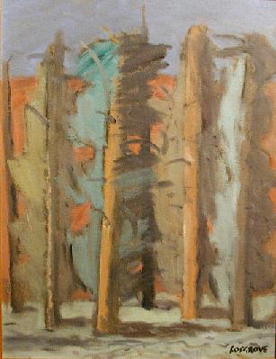 Stanley COSGROVE - Forêt d'automne (c. 1972)