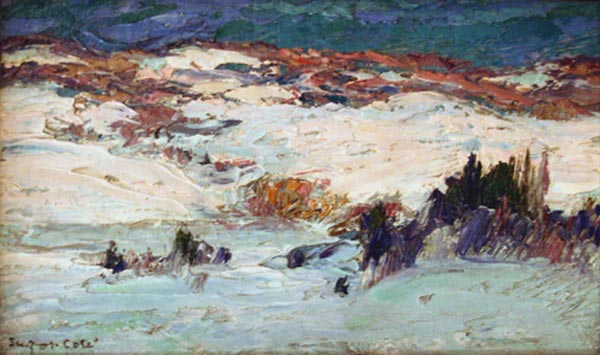 The Valley of the Nicolet (C1908) - Marc Aurèle Suzor-Côté