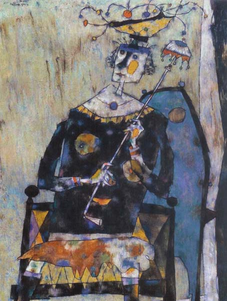 Bossue à l'ombrelle (1960/61) - Jean Dallaire