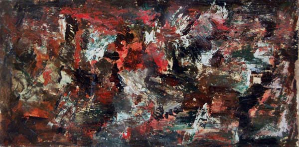 Rita LETENDRE - Abstraction (1953)