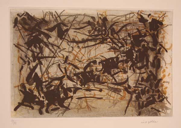 Combat -1967 - - Jean-Paul Riopelle