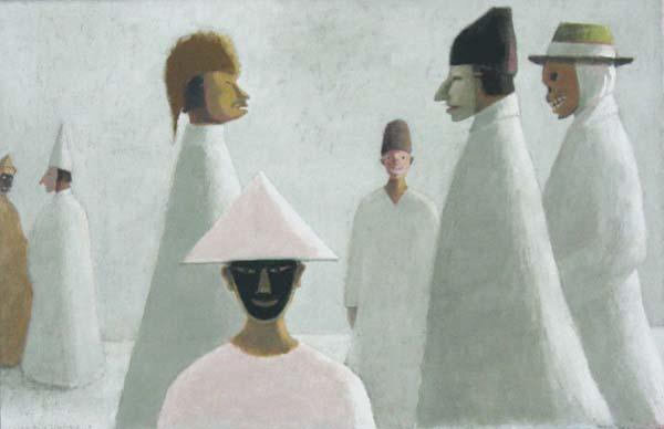 Jean Paul LEMIEUX - Les masques (1973)