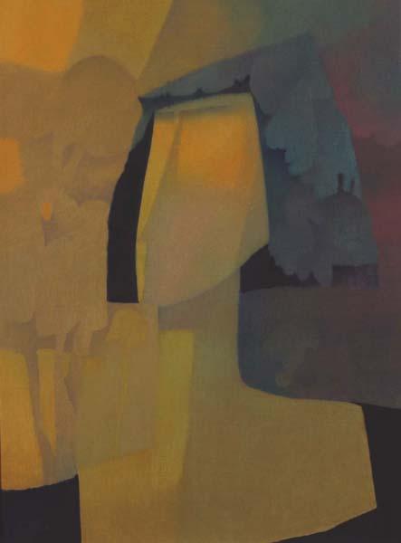 Claude LESAUTEUR - Coiffée de dentelle (c. 1981)
