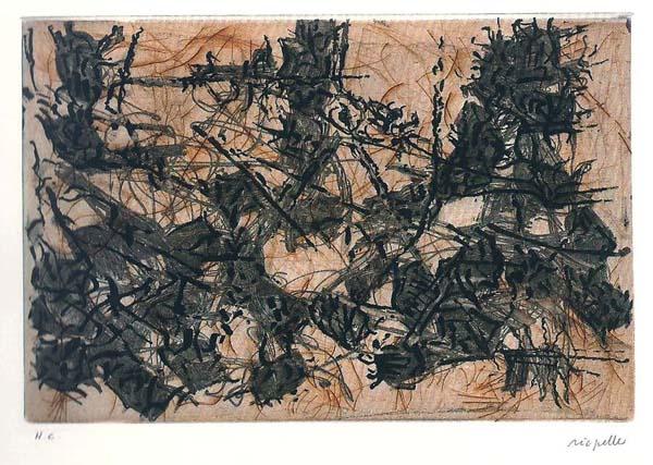 Constructions chimériques (1967) - Jean-Paul Riopelle