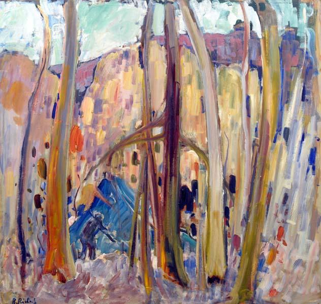 Campement de trappeurs (1960) - René Richard