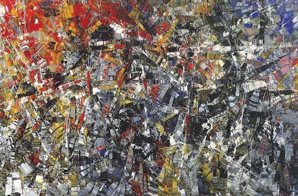 Sans titre (1952/53) - Jean-Paul Riopelle
