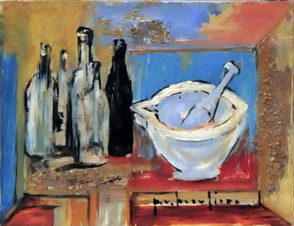 Paul-Vanier BEAULIEU - Nature morte (c. 1953)