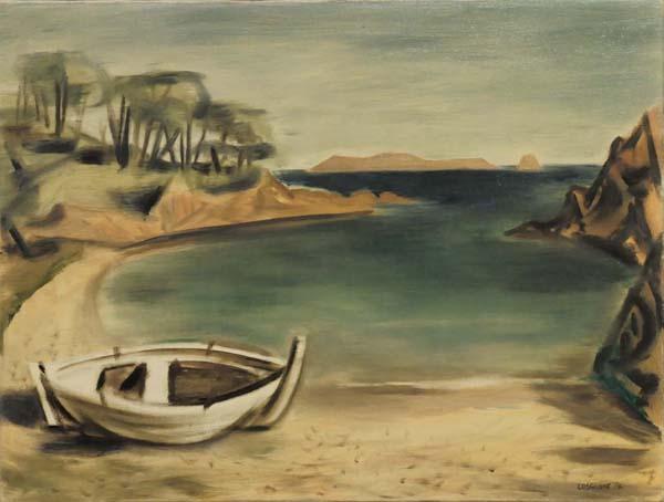 Stanley COSGROVE - Barque près de Cannes (1954)
