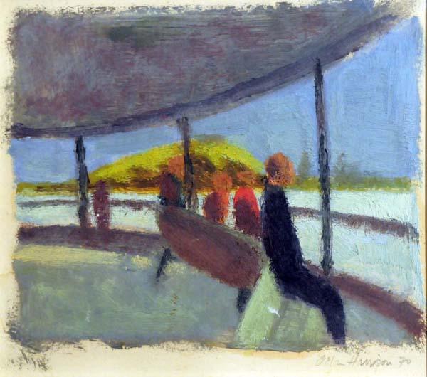 Allan HARRISON - Le traversier (1970)