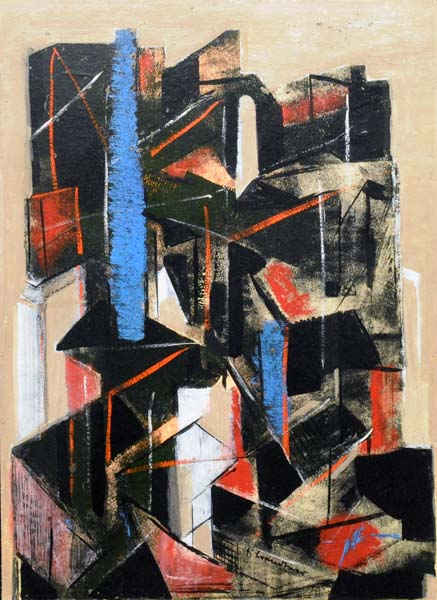 Fritz BRANDTNER - Abstraction (c. 1940)
