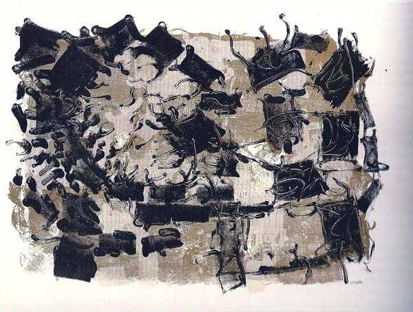 Jute III (1967) - Jean-Paul Riopelle