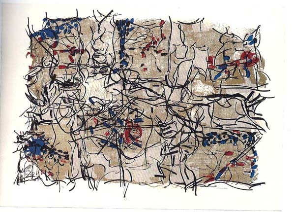 Jute II (1967) - Jean-Paul Riopelle