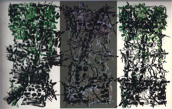 Triptyque Gris (1967) - Jean-Paul Riopelle
