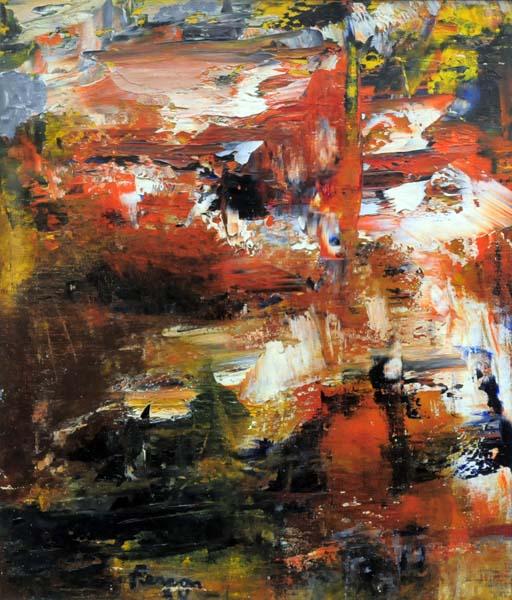 Sans titre (1954) - Marcelle Ferron