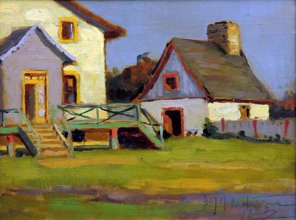 Farm House, Beaupré, Qué. (1923) - John Young Johnstone