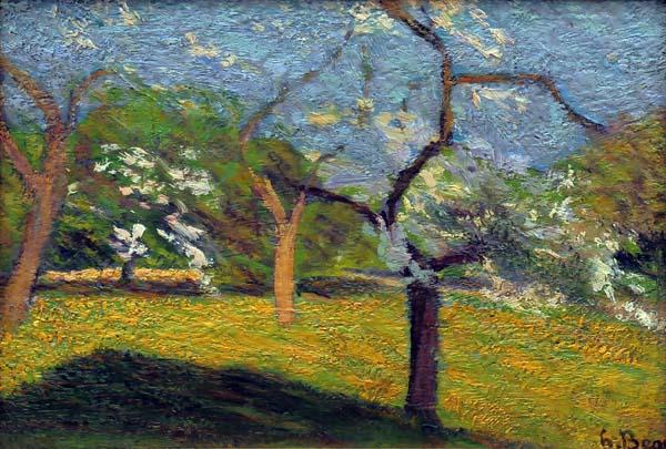 Verger en fleurs (c. 1900) - Henri Beau