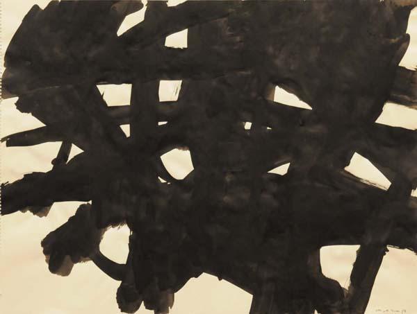 Guido MOLINARI - Sans titre ( G.M.-P-655) 1957