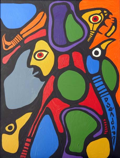 Norval MORISSEAU - Composition (1979)