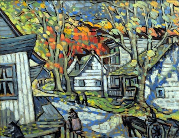 Marc-Aurèle FORTIN - Falling Leaves (c. 1937)