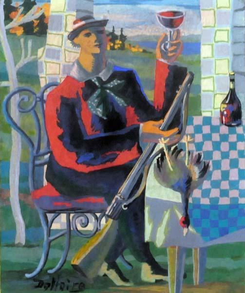 Jean DALLAIRE - Retour de chasse (1950)