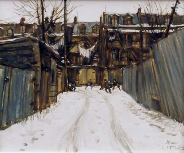 John LITTLE - Un hiver d'autrefois (1978)