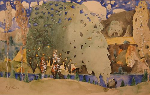 Paysage (c. 1922) - Marc-Aurèle Fortin