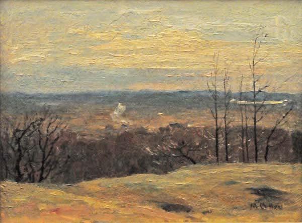 Maurice CULLEN - Sans titre (Paysage d'automne) c. 1900