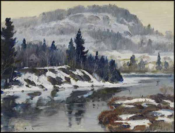 Robert PILOT - Winter Scene (c. 1950)