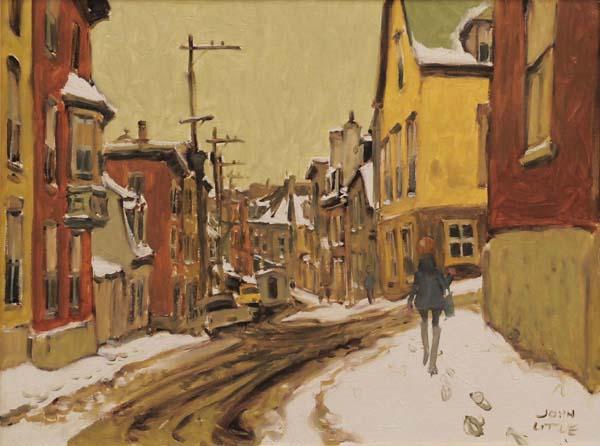 John LITTLE - Rue St-Patrice, Québec (1967)