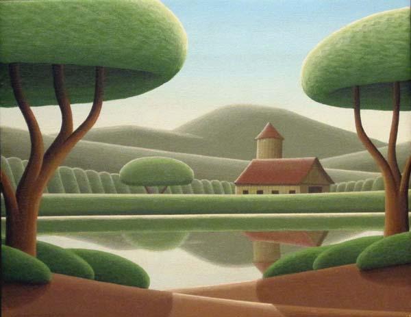 Christian DEBERDT - Réflexion de grange (2009)