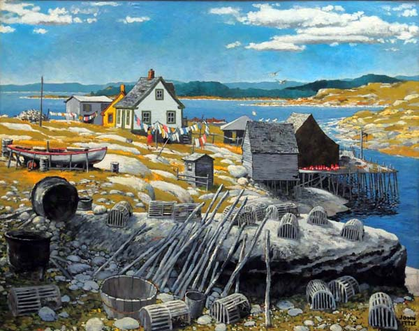 John LITTLE - Peggy's Cove (1955)
