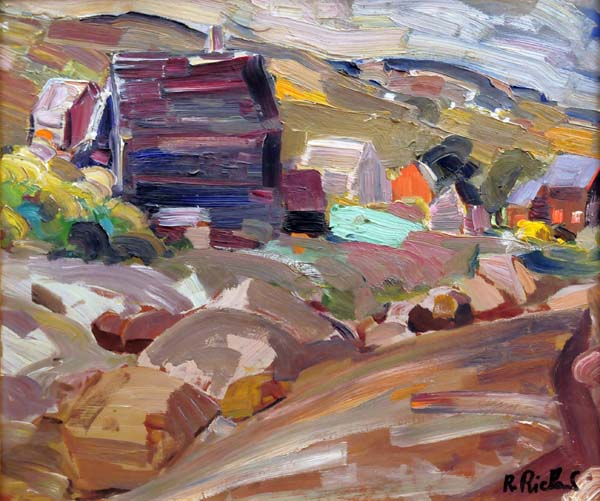 Paysage (Baie St-Paul) 1955 - René Richard
