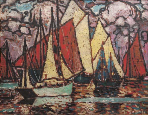 Bassin Louise, Québec (c. 1948) - Marc-Aurèle Fortin