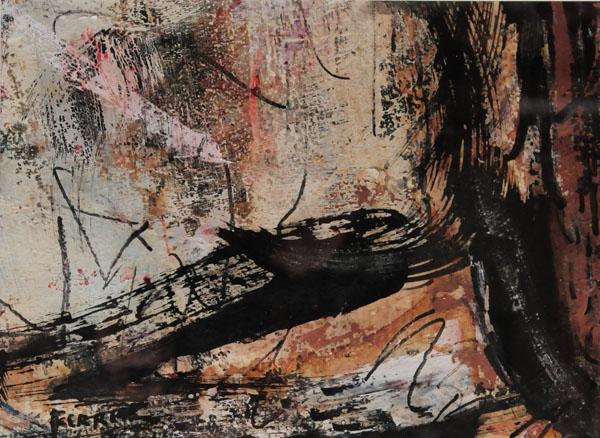 Composition (c. 1995) - Marcelle Ferron