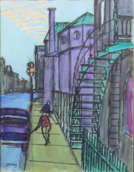 Philip SURREY - Rue Laval (c. 1977)