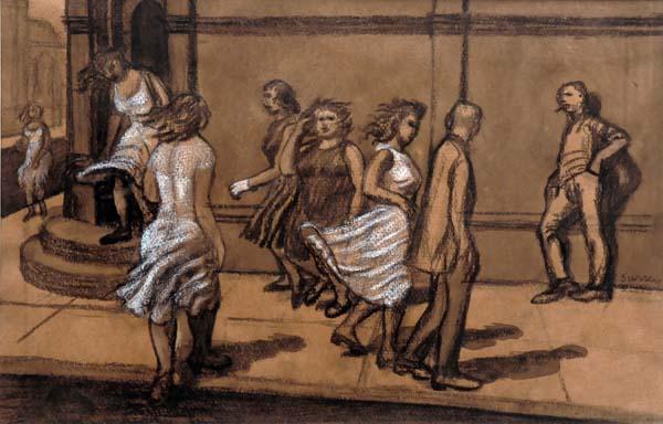 Philip SURREY - Rue Notre-Dame (1953)