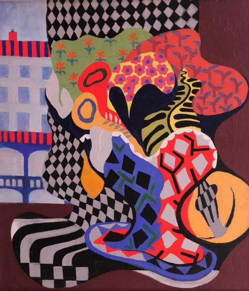 Jean SOUCY - Nature morte aux fleurs (1946)