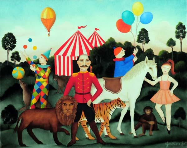 Geneviève JOST - Circus