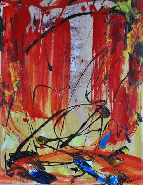 Sans titre (c. 1980) - Marcelle Ferron