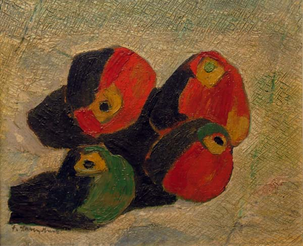 Fritz BRANDTNER - Apples (1928)