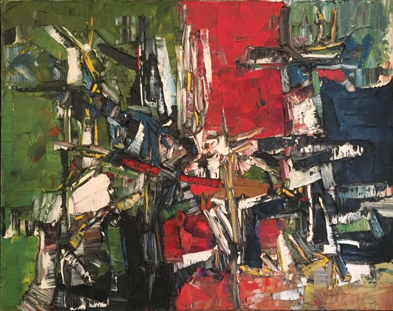 Jean-Paul RIOPELLE - Abitibi (1957)