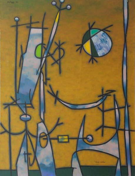 Jean DALLAIRE - Calcul lunaire (1957)