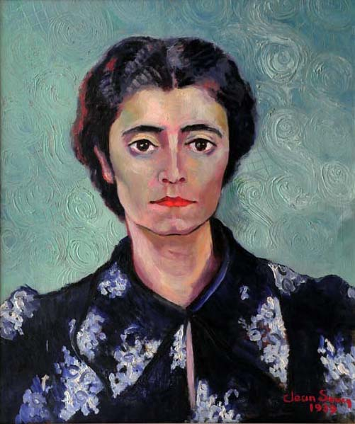 Jean SOUCY - Portrait de Germaine (1939)