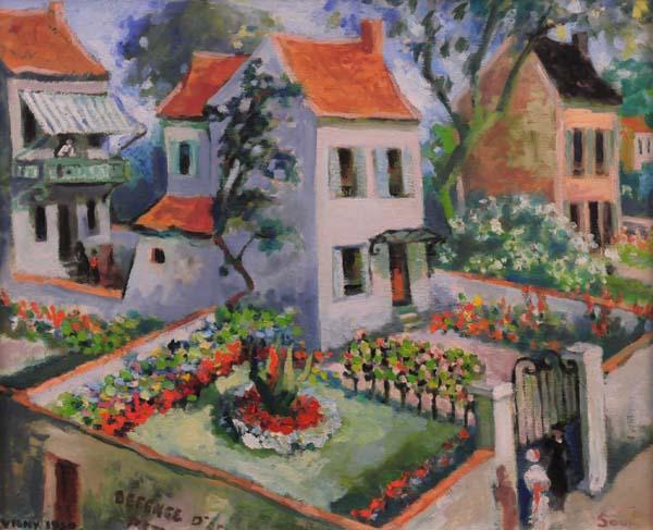 Jean SOUCY - Les jardins de Vichy (1950)