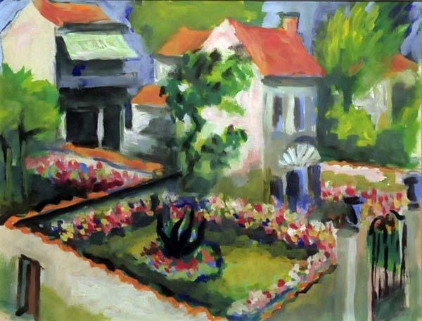 Jean SOUCY - Les jardins de Vichy (1948)